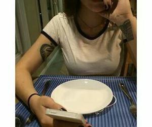 celular, pale, and food image