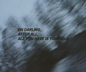 quotes, sad, and yourself image