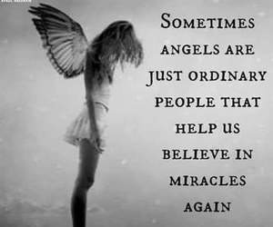 angel, believe, and miracles image