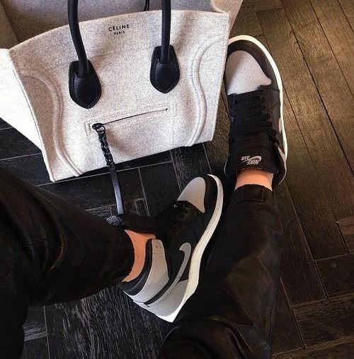 Girls wearing #sneakers Nike Air Jordan