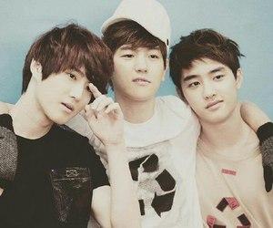 exo, baekhyun, and d.o image