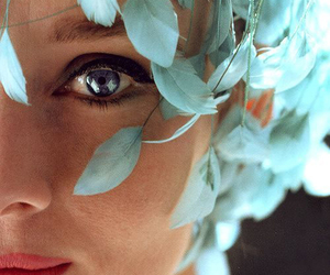 audrey hepburn, blue, and eyes image