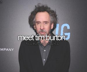 tim burton and bucket list image