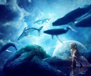 fantasy and whale image