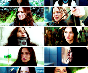 beautiful, warrior, and katniss everdeen image