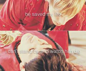 always, king, and merthur image