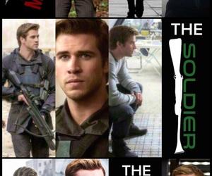 dandelion, soldier, and katniss image