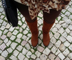 boots, clothes, and look image