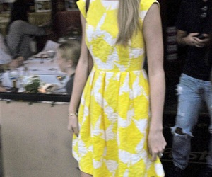 Taylor Swift and yellow image
