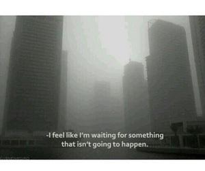 sad, alone, and happen image
