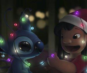 disney, lilo, and christmas image