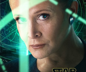 star wars, the force awakens, and carrie fisher image