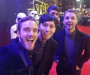pewdiepie, phil lester, and dan howell image