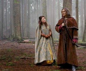 belle, Emilie de Ravin, and once upon a time image