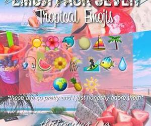 editing, theme, and tropical image