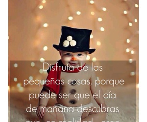 baby, christmas, and frases image