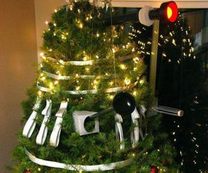 Dalek, doctor who, and tree image