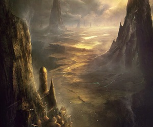 art, fantasy, and landscape image