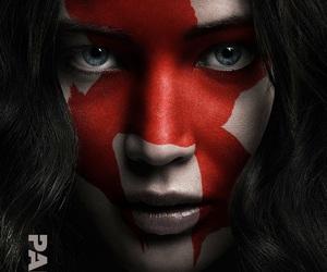katniss, Jennifer Lawrence, and hunger games image