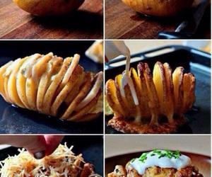 food, potato, and cheese image