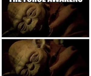 star wars, funny, and yoda image