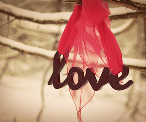 love and red image