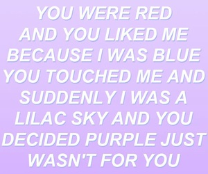 colors, Lyrics, and halsey image
