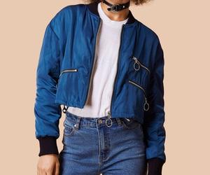 blue, coat, and jacket image