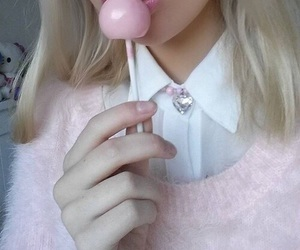 adorable, blonde, and pastel image