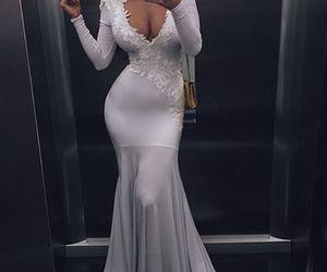 dress, luxury, and style image