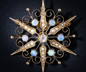 brooch, diamond, and pin image