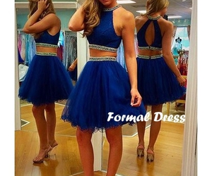 dresses, short prom dress, and evening dress image