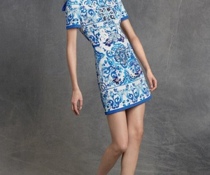 art, blue, and Couture image