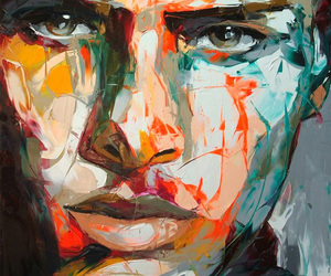 art, abstract, and Francoise Nielly image