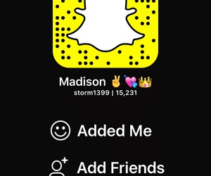 snapchat, addme, and friends image