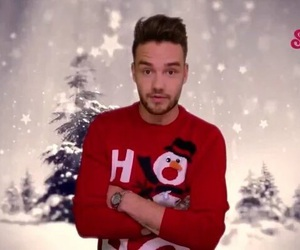 liam payne, one direction, and christmas image
