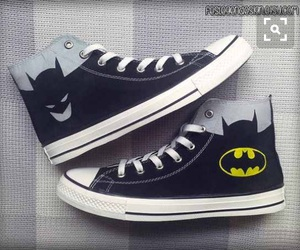 batman, shoes, and converse image