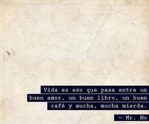 vida, book, and frases image