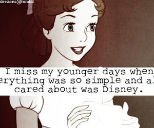disney, quote, and young image