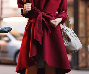 coat and red image