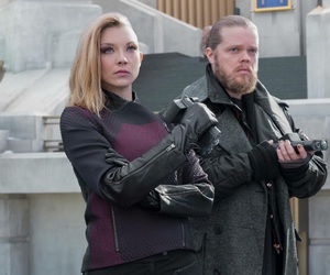 the hunger games, mockingjay, and Natalie Dormer image