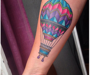 adventurer, colorful, and hot air balloon image