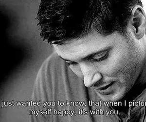 supernatural, love, and quote image