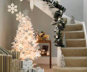 christmas, tree, and decor image