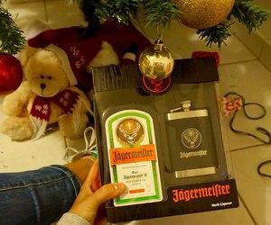 alcohol, christmas, and drink image