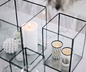 candle, home, and decor image