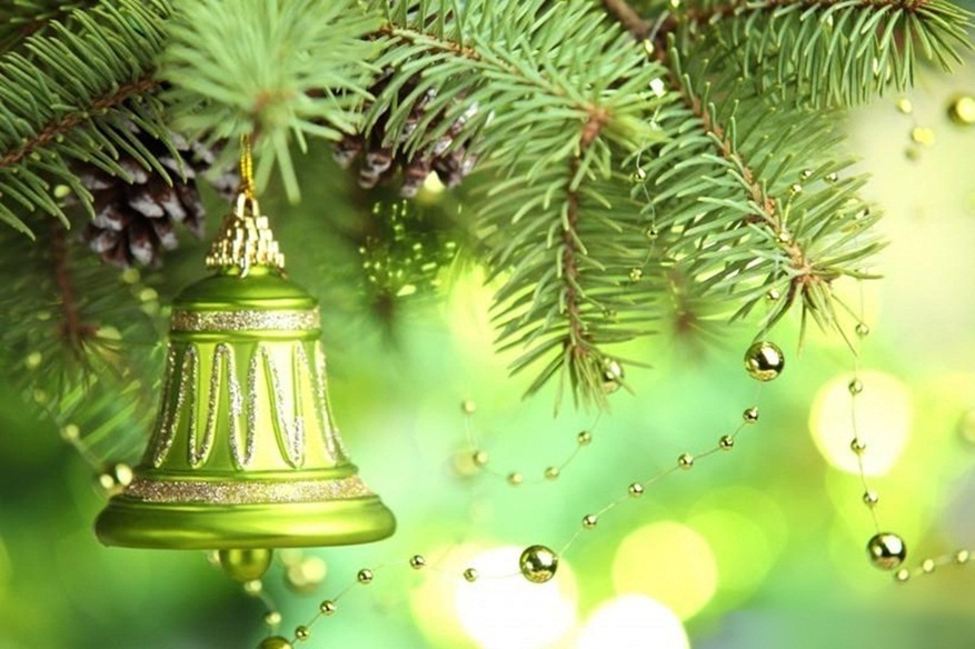 Decorative Christmas Bell Images Hd Wallpapers 2015