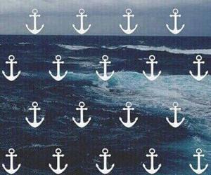 anchor, wallpaper, and sea image
