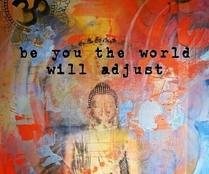 Buddha, be you, and peace image