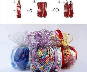 diy, gift, and bottle image